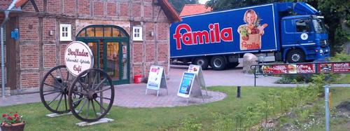 Bela_Famila beliefert Dorfladen_web