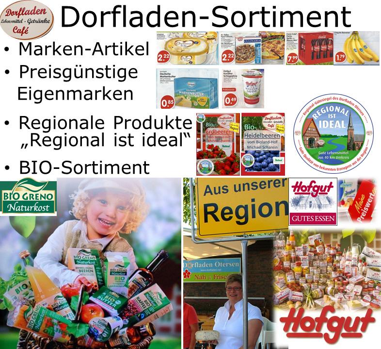 Dorfladen-Sortiment